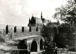 AK / Ansichtskarte Leiden Burcht Hooglandse Kerk Kat. Leiden