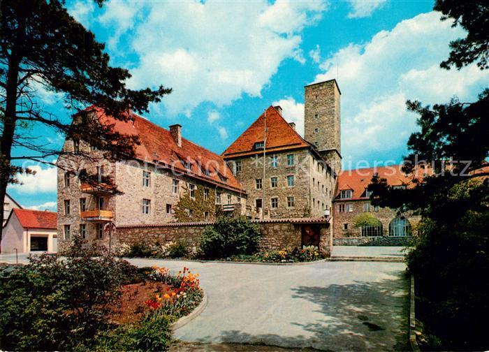 AK / Ansichtskarte Ebermannstadt Burg Feuerstein  Kat. Ebermannstadt