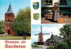AK / Ansichtskarte Garderen Windmuehle Kirche