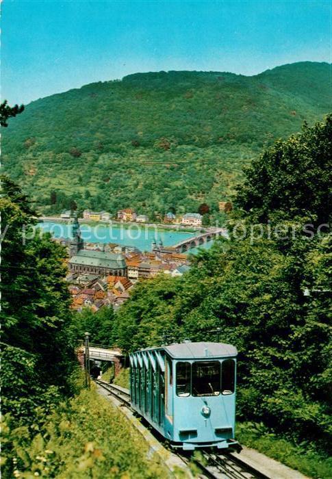 AK / Ansichtskarte Bergbahn Koenigsstuhl Heidelberg Kat. Bergbahn