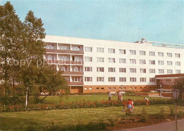 AK / Ansichtskarte Ahrenshoop Ostseebad Kombinat VEB Chem Werke Buna Betriebserholungsheim Bernard Koenen Kat. Ahrenshoop