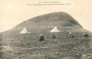 AK / Ansichtskarte Plomb du Cantal Le Sommet du Plomb du Chantal