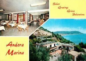 AK / Ansichtskarte Andora Marina Restaurant Bar Kat.