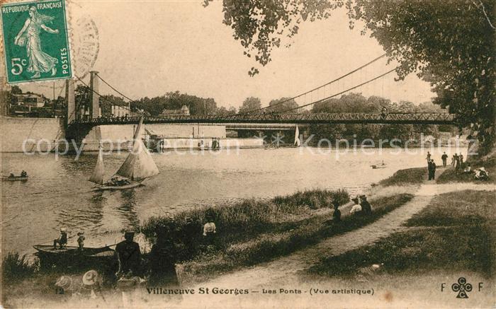 AK / Ansichtskarte Villeneuve Saint Georges Les Ponts Kat. Villeneuve Saint Georges
