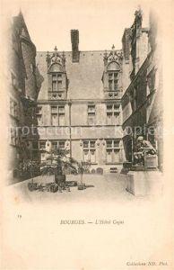 AK / Ansichtskarte Bourges Hotel Cujas Kat. Bourges