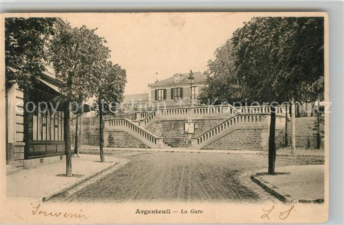 AK / Ansichtskarte Argenteuil Val d Oise La Gare Kat. Argenteuil