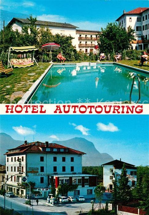 AK / Ansichtskarte Laghetti di Egna Hotel Autotouring Swimming Pool