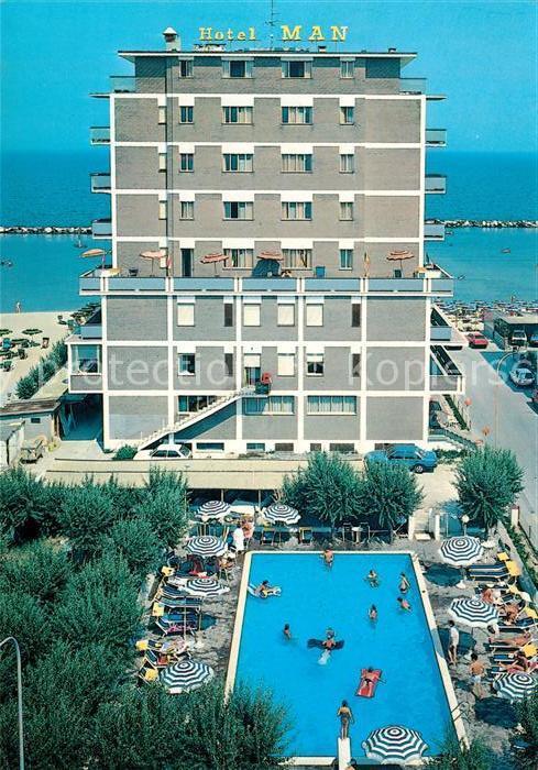 AK / Ansichtskarte Lido di Savio Hotel Man Swimming Pool Meerblick Kat. Lido di Savio