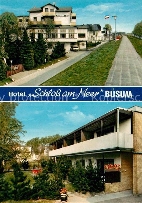 AK / Ansichtskarte Buesum Nordseebad Hotel Schloss am Meer Kat. Buesum