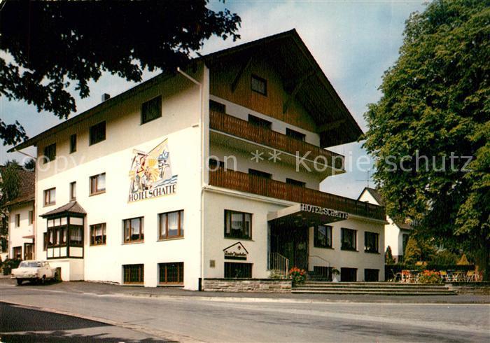 AK / Ansichtskarte Neuhaus Solling Hotel Schatte  Kat. Holzminden