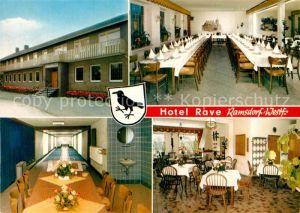 AK / Ansichtskarte Ramsdorf Velen Hotel Rave Kat. Velen