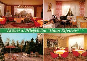 AK / Ansichtskarte Bockenem Alten Pflegeheim Haus Elfriede Kat. Bockenem