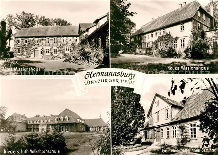 AK / Ansichtskarte Hermannsburg Missionshaus Volkshochschule Seminar Kat. Hermannsburg
