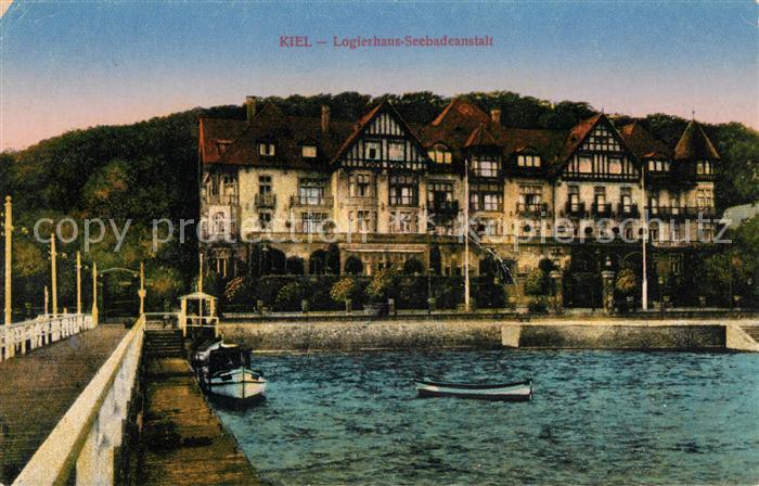 AK / Ansichtskarte Kiel Logierhaus Seebadeanstalt Kat. Kiel