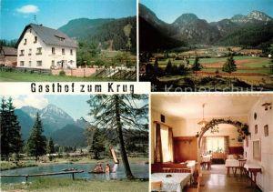 AK / Ansichtskarte Wildalpen Gasthof zum Krug  Kat. Wildalpen