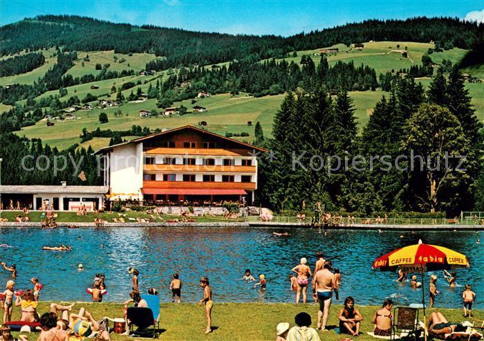 AK / Ansichtskarte Kirchberg Tirol Cafe Restaurant Seehof Kat. Kirchberg in Tirol
