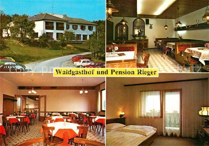 Ak Ansichtskarte Untertullnerbach Waldgasthof Pension Rieger