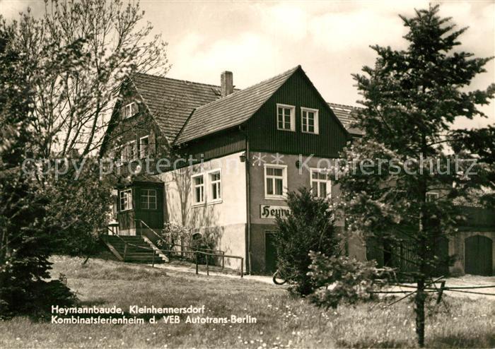 AK / Ansichtskarte Kleinhennersdorf Heymannbaude  Kat. Gohrisch
