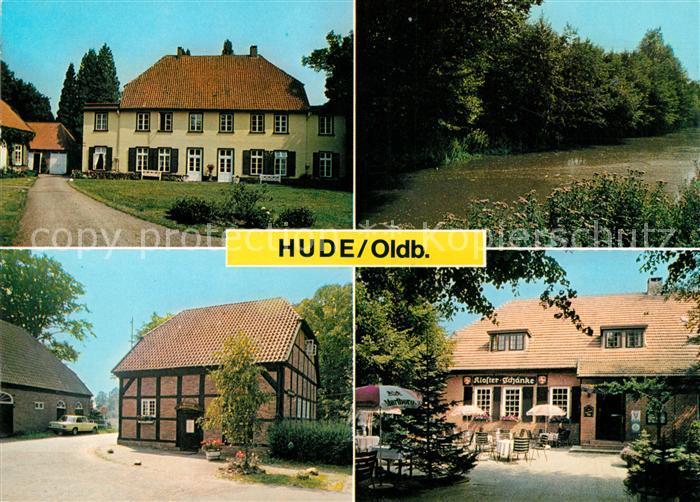 AK / Ansichtskarte Hude Oldenburg Kloster Schaenke Panorama Kat ...