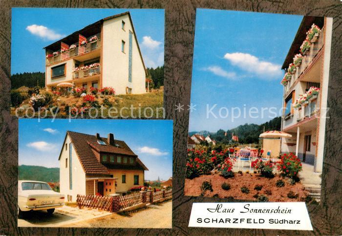 AK / Ansichtskarte Scharzfeld Haus Sonnenschein Kat. Herzberg am Harz