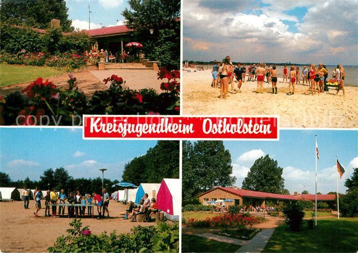 AK / Ansichtskarte Scharbeutz Ostseebad Kreisjugendheim Ostholstein Kat. Scharbeutz