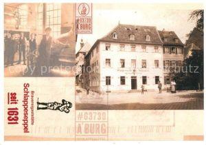 AK / Ansichtskarte Aschaffenburg Main Gasthaus Schlappeseppel Kat. Aschaffenburg