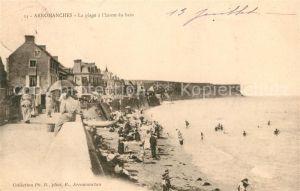 AK / Ansichtskarte Arromanches les Bains La plage a l'heure du bain Kat. Arromanches les Bains