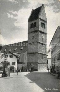 AK / Ansichtskarte Zell See Kirche Kat. Zell am See