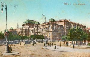 AK / Ansichtskarte Wien K. K. Universitaet Kat. Wien