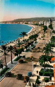 AK / Ansichtskarte Nice Alpes Maritimes Promenade des Anglais et Baie des Anges Kat. Nice