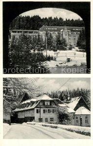 AK / Ansichtskarte Elgershausen Schauenburg Waldhof