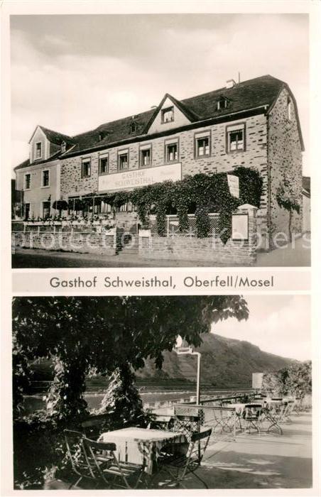 AK / Ansichtskarte Oberfell Gasthaus Schweisthal Kat. Oberfell Mosel