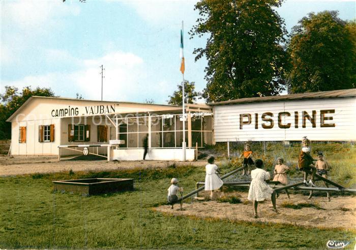 AK / Ansichtskarte Neuf Brisach Piscine et Camping Kat. Neuf Brisach