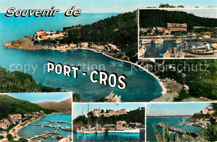 AK / Ansichtskarte Ile de Port Cros Vue panoramique Port