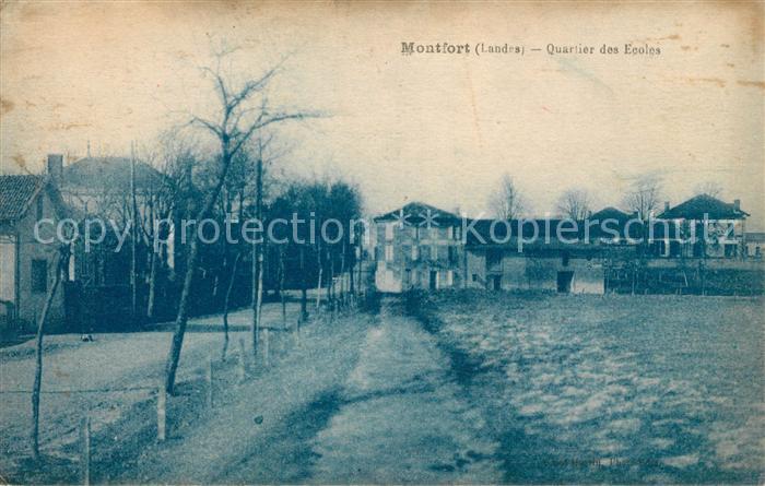 AK / Ansichtskarte Montfort en Chalosse Quartier des Ecoles Kat. Montfort en Chalosse