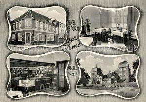 AK / Ansichtskarte Ahaus Hotel Restaurant zur Krone Kat. Ahaus