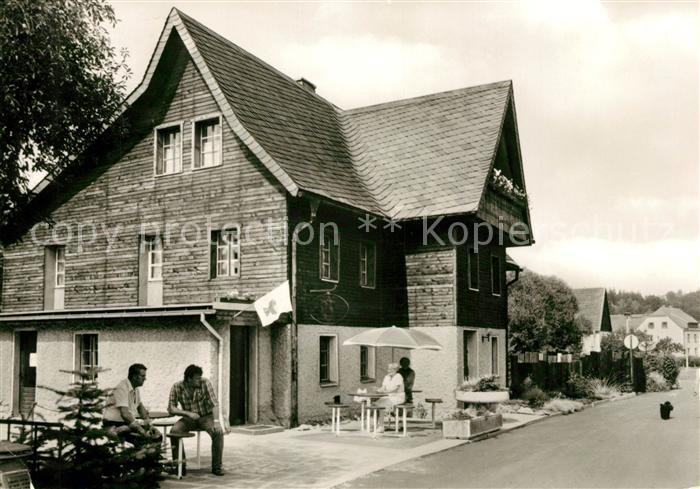 AK / Ansichtskarte Markersbach Bahratal Cafe Rofir