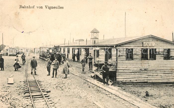 AK / Ansichtskarte Vigneulles Bahnhof Kat. Vigneulles