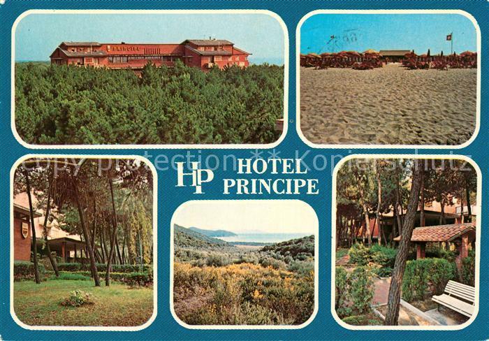 AK / Ansichtskarte Principina a Mare Hotel Principe Kat. Grosseto