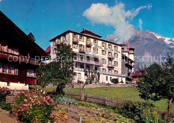 AK / Ansichtskarte Grindelwald Hotel Bel Air Eden Kat. Grindelwald
