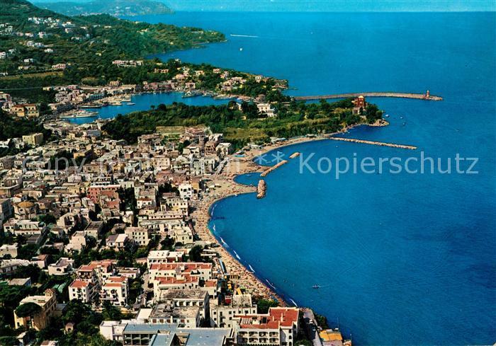 AK / Ansichtskarte Ischia Fliegeraufnahme Hafen Kat.