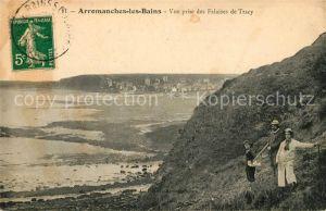AK / Ansichtskarte Arromanches les Bains Vue prise des Falaises de Tracy Kat. Arromanches les Bains