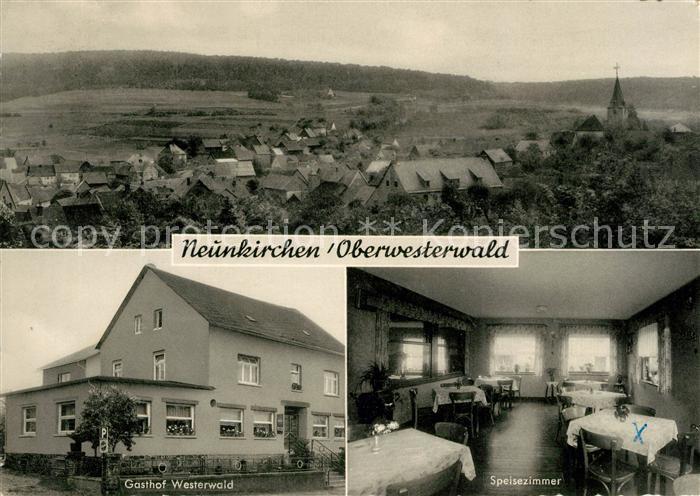 AK / Ansichtskarte Neunkirchen Westerwald Gasthaus zum Westerwald Kat. Neunkirchen