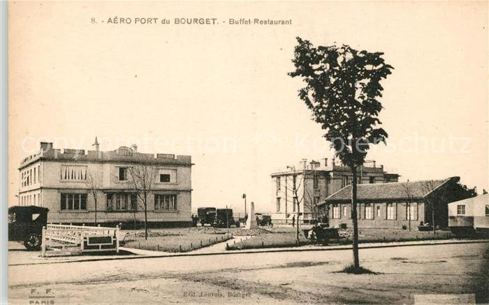 AK / Ansichtskarte Bourget Seine Saint Denis Le Aeroport Buffet Restaurant Kat. Le Bourget