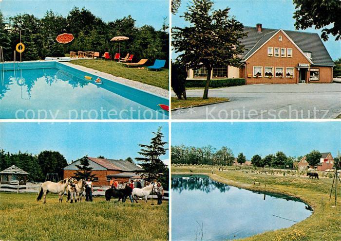 AK / Ansichtskarte Rhede Ems Gasthaus Zum Deutschen Eck  Kat. Rhede (Ems)