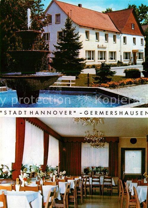 AK / Ansichtskarte Germershausen Gasthaus Stadt Hannover Kat. Rollshausen