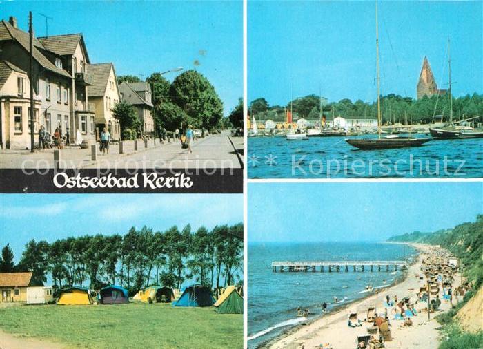 AK / Ansichtskarte Rerik Ostseebad Strand Campingplatz Hafen Kat. Ostseebad Rerik