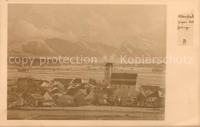 AK / Ansichtskarte Altenstadt Oberbayern Panorama