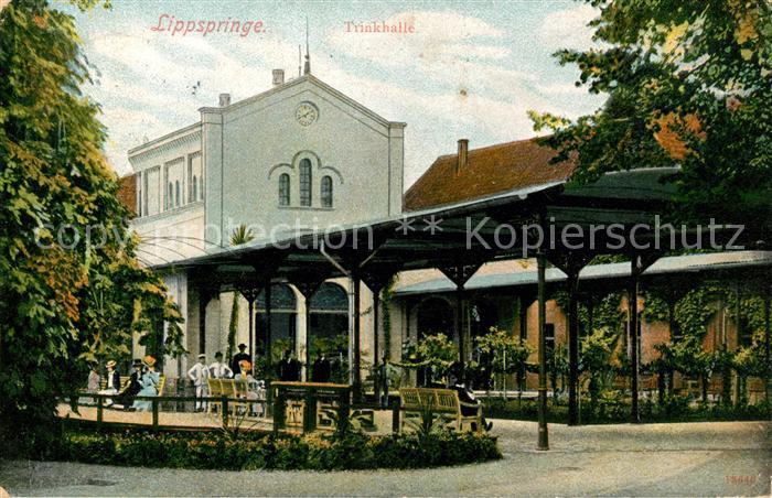 Lippspringe Bad Trinkhalle Kat. Bad Lippspringe