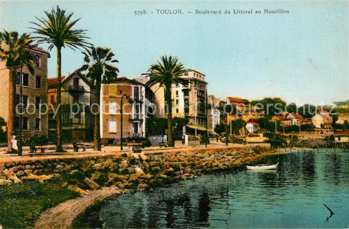 Toulon Var Boulevard du Littoral au Mourillon Kat. Toulon